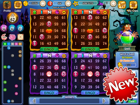 Trucchi bingo bingo bash